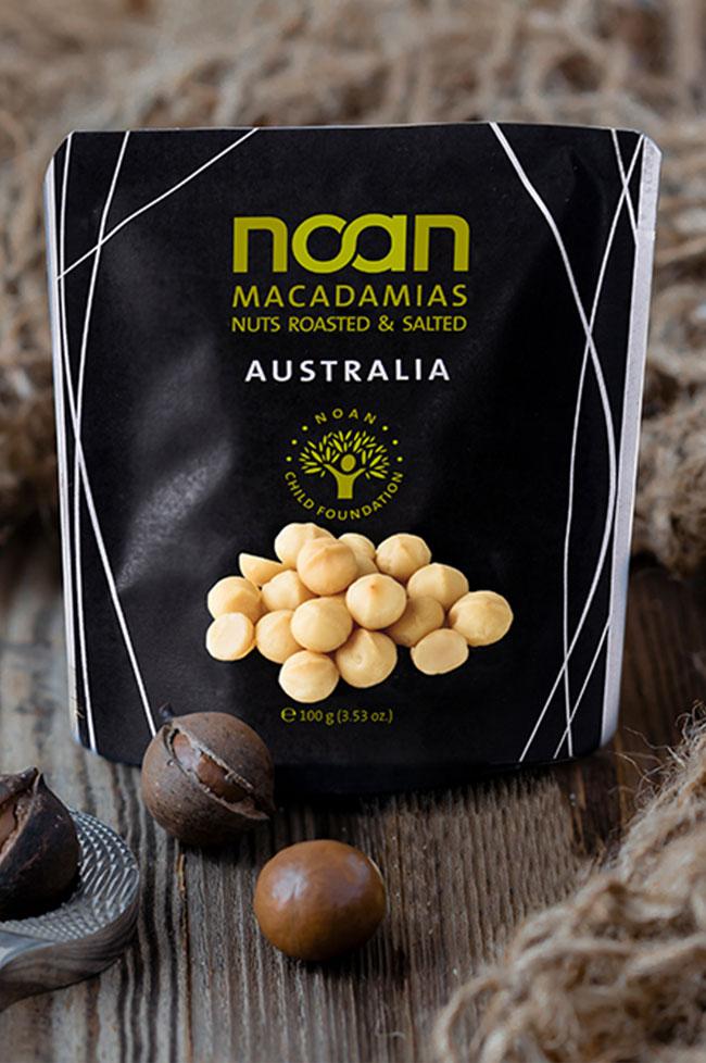 noan macadamias packagedesign