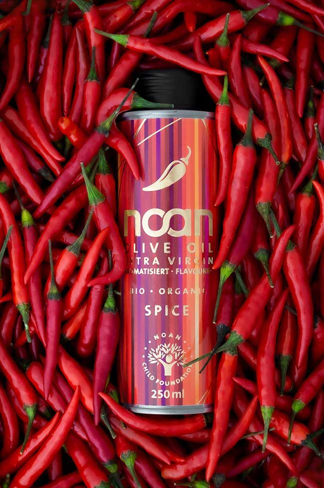 Aroma-Olivenöl Spice
